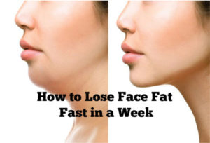 get rid of face fast in a week